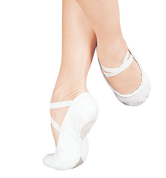 White Ballet Slippers for when I want to ditch my heels!  #dancerwedding