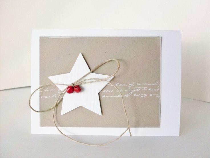 Weihnachtskarten - ★ Weihnachtskarte - ein Designerstück von Carolas-Bastelstuebchen bei DaWanda