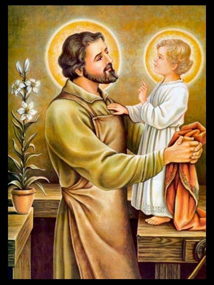 San José y Niño Jesús