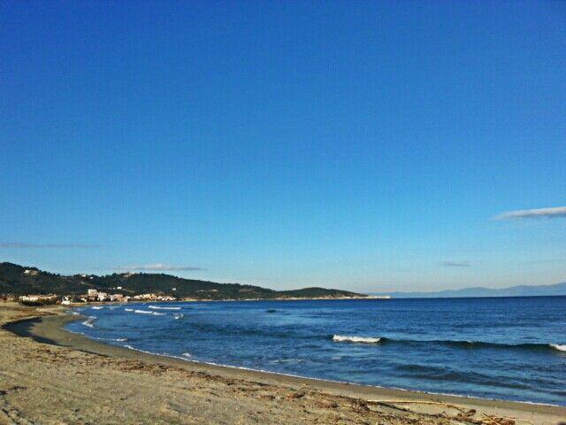 a winter walk on the beach...!