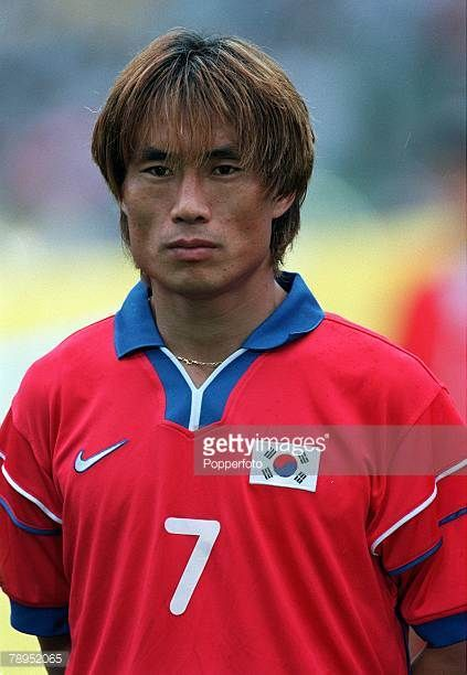Football FIFA Confederations Cup 30th May 2001 Daegu Korea Korea Republic 0 v France 5 Korea Republic's Tae Young Kim