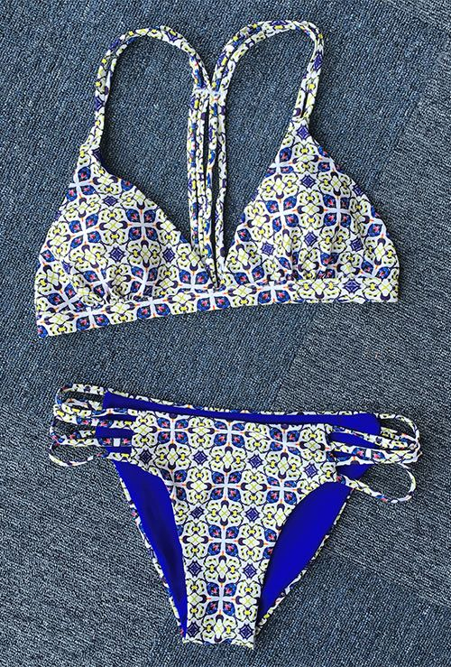 We're so in the mood for heated summer. The bikini is the sweetest little thing to add to your wardrobe. Cupshe.com will give you a hot summer look. It's your turn to show now!
