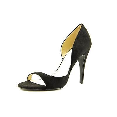 Diskon 85% untuk Mia Estelle  Women  Open-Toe Suede Black Heels[8]! Total biaya hanya Rp 393.326,00 (Kurs : Rp 13.700,00). Beli sekarang = https://jasaperantara.com/pembelianbarang/ebay/?number=1&calckodepos=15225&query=131576327508&quantity=1&jenis=bin&btnSubmit=Hitung , eBay = http://cgi.ebay.com/131576327508