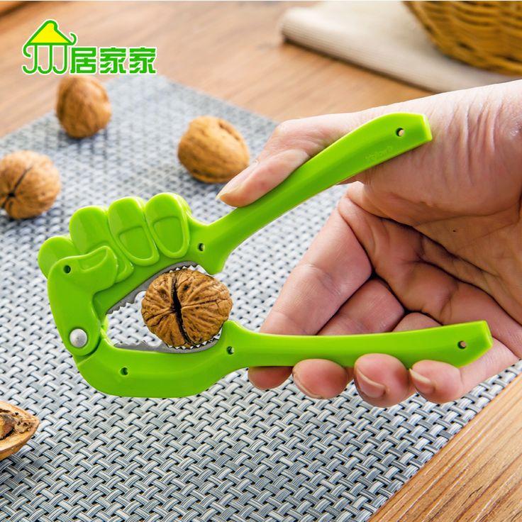 Creative clip nuts walnut pecan sheller device to open a small tool hazel nut cracker walnut clamp