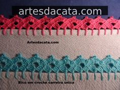 Bico Em Croche | Artes da Cata - Part 4