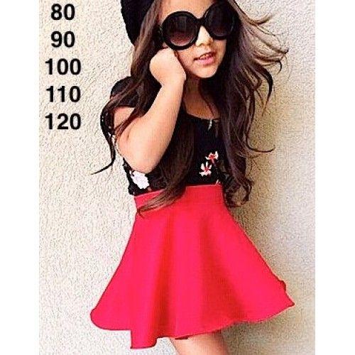 Lnice 35.3 13784 Flower Pink set Rok Merah