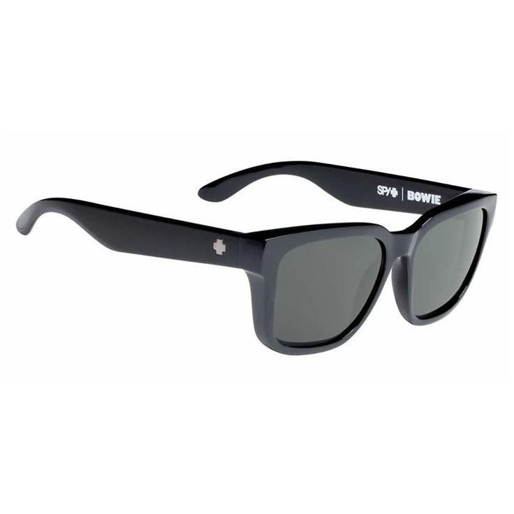 Spy Sunglasses Bowie Black Happy Grey Green
