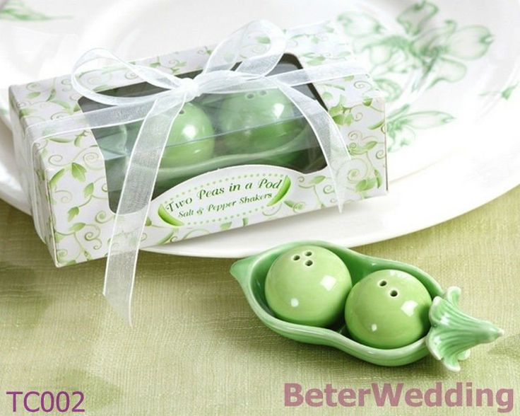 Aliexpress.com : Buy Two Peas in a Pod Salt and Pepper Shakers(10pcs, 5set)TC002 use as Wedding Gifts or Wedding Souvenirs from Reliable Peas suppliers on Shanghai Beter Gifts Co., Ltd. $10.00