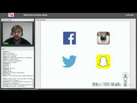 "Webinarium ""Biblioteka w social media"" - YouTube"