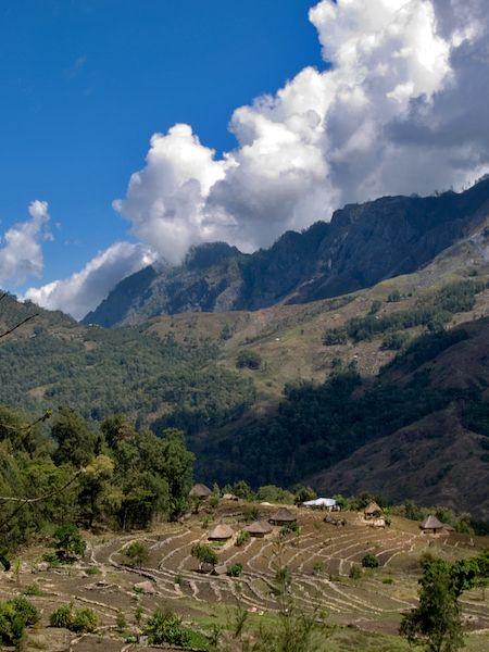 Mountain village - East Timor