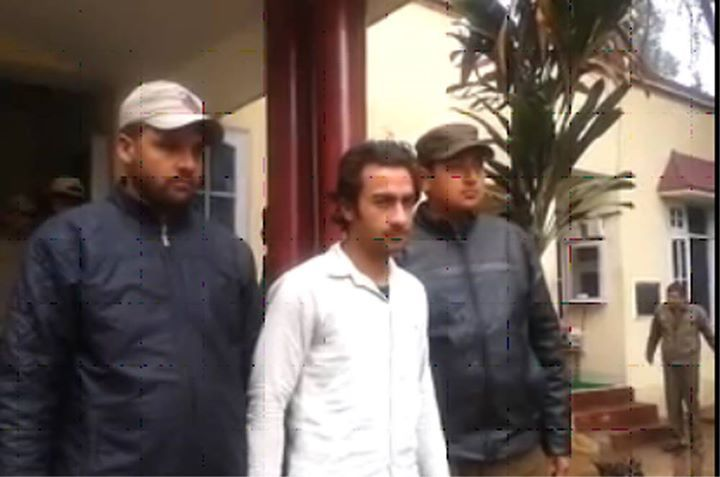 Udhampur police arrested a hardcore murder accused who managed to escaped during trial in Session Court Jammu on 2-05-2015