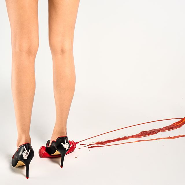 Extravaganza* 💃🏻 New work for Maxine Shoes Campaign 👠 Shoes @maxine_shoes Photography @ljgodbolt Art Direction @__astridsalas Digital Strategy @nikaovcharova Retouching @marioku.portrait  Model @shumaila7x 🍌🍍🍅 #artdirection #lookbook #fashionphotographer #fashionshoot #fashion #fashiongram #fun #woman #free # freespirited #legs #fashion #shoes #style #photoshoot #whatever #pineapple #banana #ketchup #lookbook #london