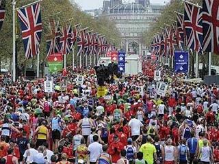 London marathon live