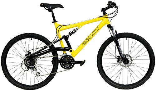 21 Speed Full Suspension Mountain Bike 26 Inch Aluminum Frame