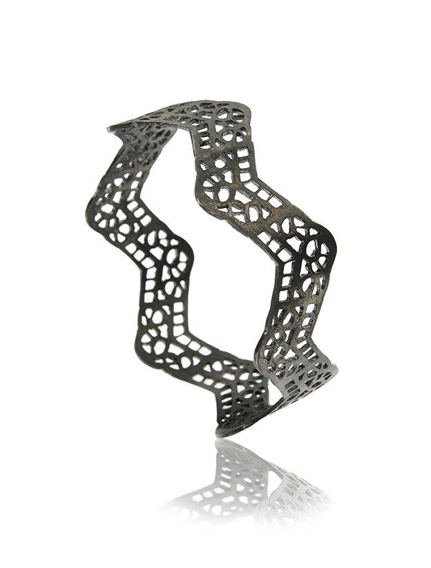 Siera Leone Cuff - Silver