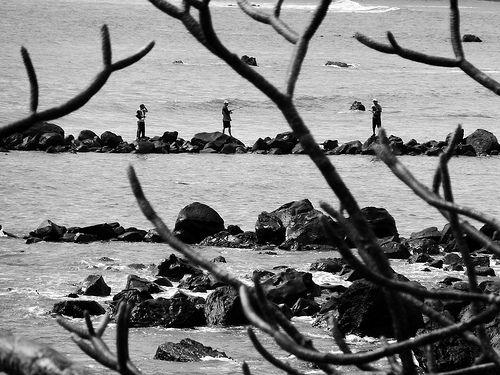 Photo of the Day: December 10, 2013 - Fishin' hole. Near Acajutla, El Salvador.