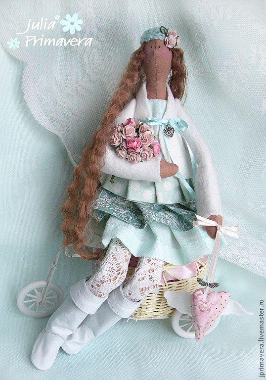 Купить Sweet mint (кукла по мотивам Тильда) - мятный, тильда, тильда ангел, коллекционная кукла