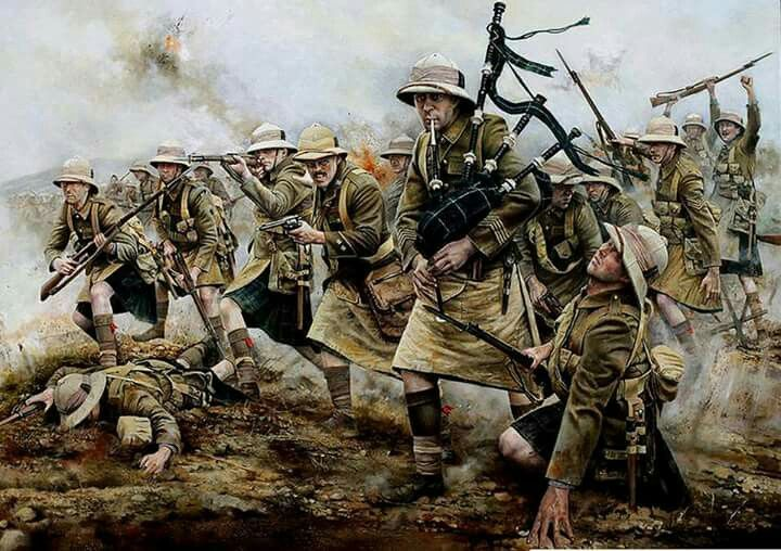 Highland Lt. Inf. 1915 Gallipoli Aci Baba
