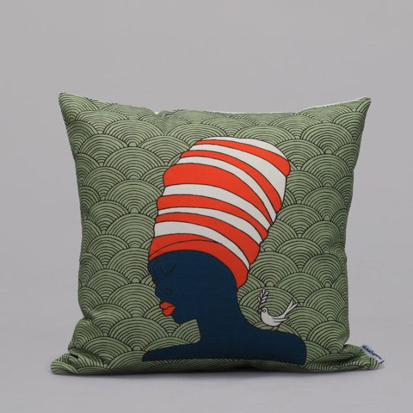 african-lady-mint-cushion-cover-50x50