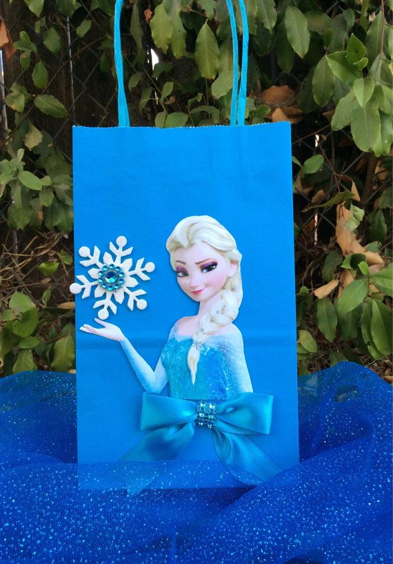 Frozen Disney Princesses Elsa 6 Birthday by FantastikCreations