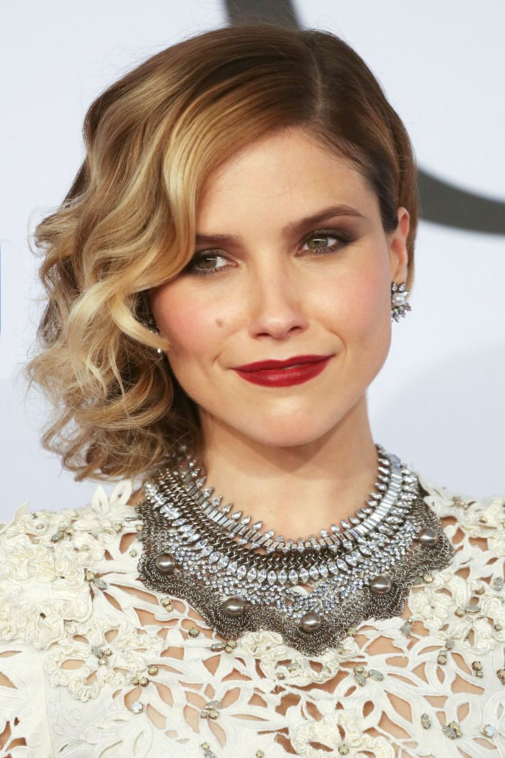 The 8 Most Eye-Popping Beauty Looks From The CFDA Awards #refinery29  http://www.refinery29.com/2014/06/68960/cfda-awards-beauty#slide6  With her side curls, heavy blush, and moody eye makeup, Sophia Bush looked like she just waltzed right out of a Victorian portrait.