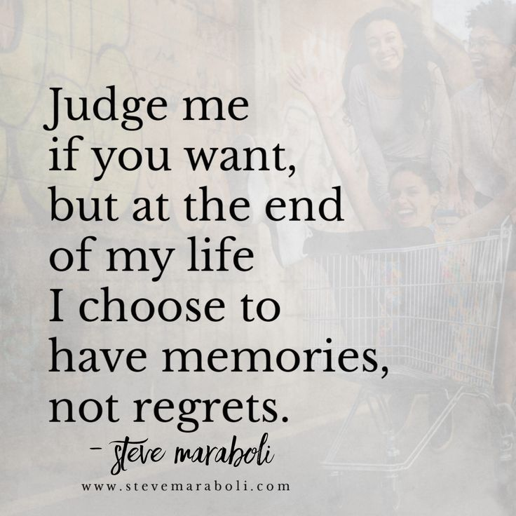 Quotes About The Deep End: Judge Me If You Want, But At The End Of My Life I Choose