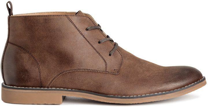 H&M - Desert Boots - Brown - Men