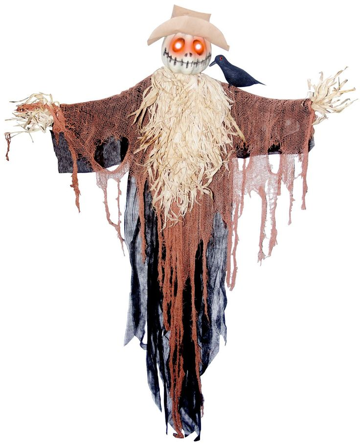 30 best halloween images on pinterest halloween prop for Animated scarecrow decoration