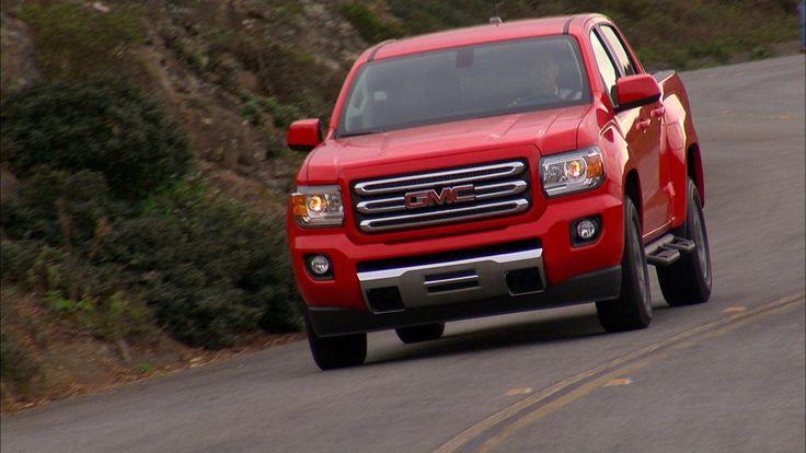 2015 GMC Canyon SLE.    http://gmc.com/canyon-small-pickup-truck.html