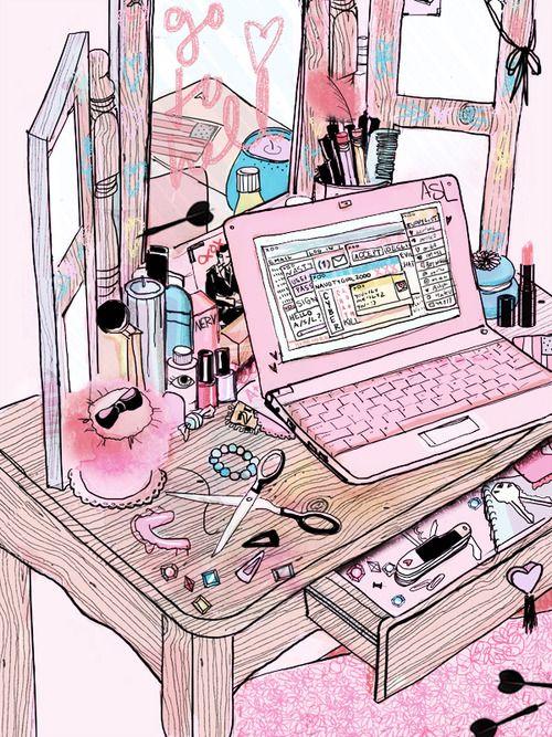 Online Persona / Amanda Lanzone  Love this sketch