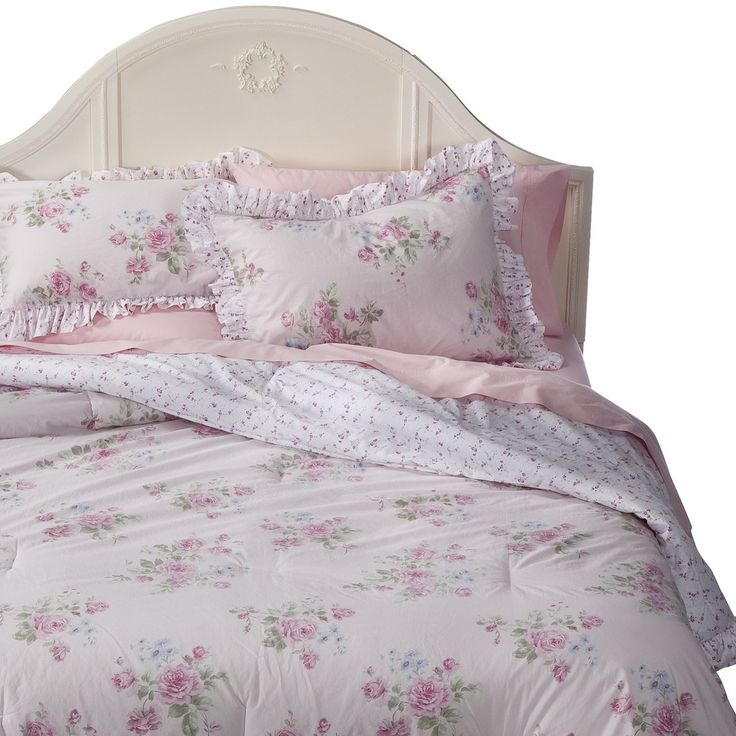 simply shabby chic misty rose comforter pink