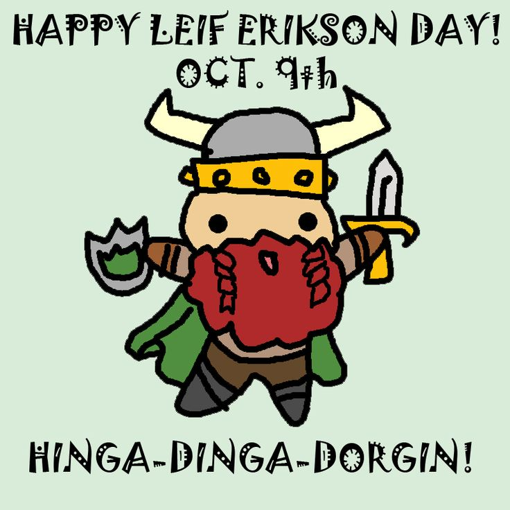 Happy Leif Erikson day