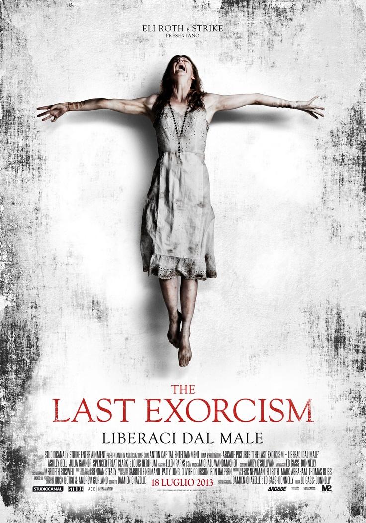 #TheLastExorcism - Liberaci dal male. #poster italiano ufficiale del #film #horror prodotto da #EliRoth, #alcinema dal 18 LUGLIO.