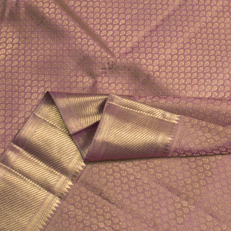 Kanakavalli Handwoven Kanjivaram Silk Sari 060100653 - Sari / All Saris - Parisera
