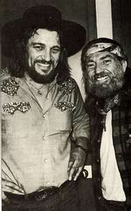 Waylon Jennings and Willie Nelson - For more western inspirations, visit…