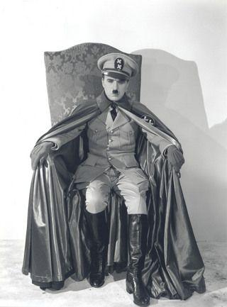 Great dictator sitting