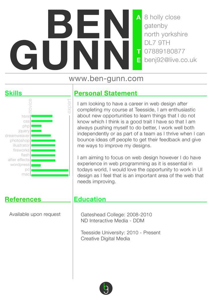 web2 resume examplesresume ideasweb designer