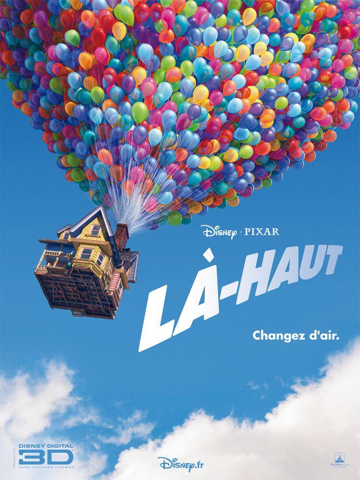 Disney-Pixar : Là-Haut les Affiches-Posters en Français