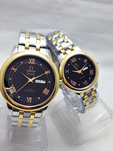 Đồng hồ đôi giá rẻ tại HCM Omega C-OM0723-SG