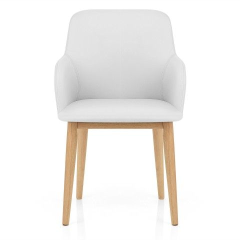 Albany Dining Chair White - Atlantic Shopping