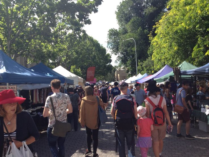Salamanca market on every Saturday till 3pm