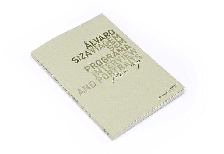 Book - Alvaro Siva. Viagem Sem Programa. Interview and Portraits