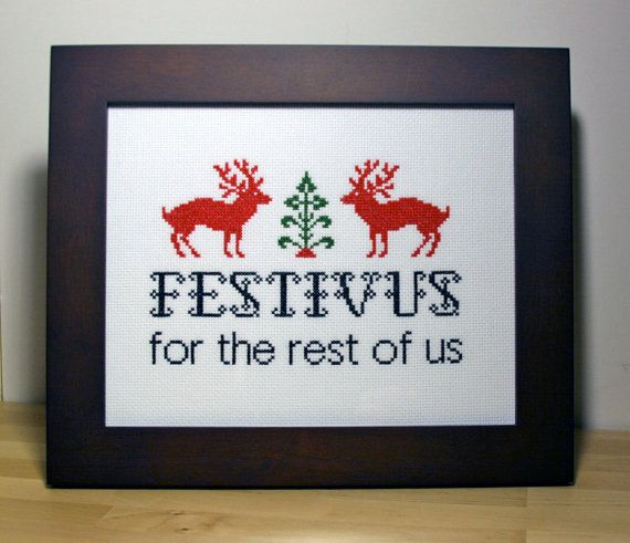 """""""The holiday's celebration, as it was shown on Seinfeld, includes a Festivus dinner, an unadorned aluminum """"Festivus pole,"""" practices such as the """"Airing of Grievances"""" and """"Feats of Strength,"""" and the labeling of easily explainable events as """"Festivus miracles."""""""