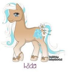 My Little Pony: Kida by Morgwaine