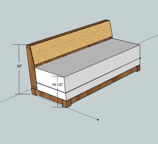 DIY couch that pulls out into a bed... idea for the office?