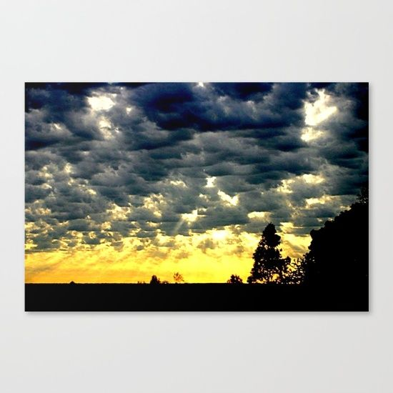 Sunrise, Clouds, Sun Rays, Silhouettes, Grey cloud Formations, Horizon, Landscape, Australia.