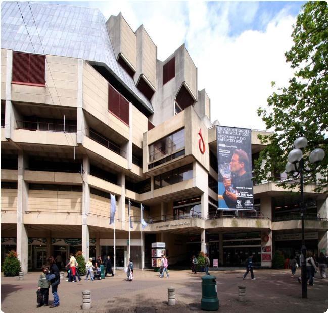 St Davids Hall - Cardiff