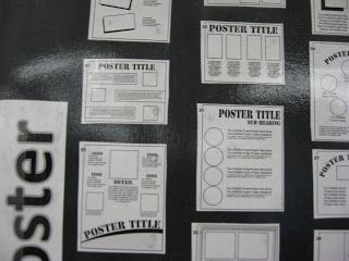 """""""How to Make a Poster"""" Poster - great resource for project-based learning"""