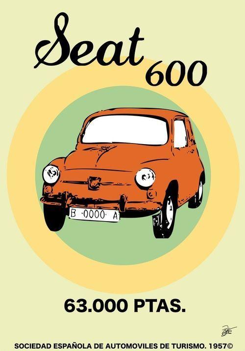 Hace 40 años que salió el último Seat 600 de la cadena de montaje de la factoría de Seat en la Zona Franca, en Barcelona, siendo el fin de la producción de este emblemático coche español que ayudó a la motorización del país. Su fabricación había comenzado en 1957 y en esos 16 años se produjeron casi 800.000 unidades.