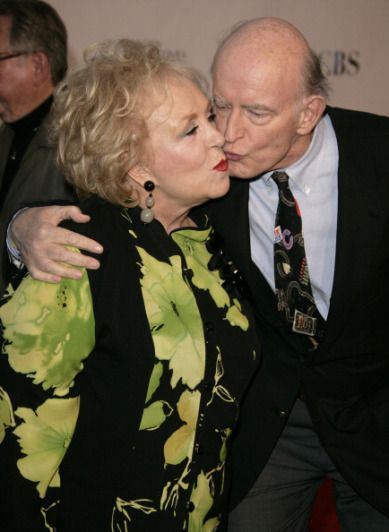 "Doris Roberts and Peter Boyle during ""Everybody Loves Raymond"" Series Wrap Party at HANGAR 8, Santa Monica Airport in Los Angeles, California. RIP, Doris."
